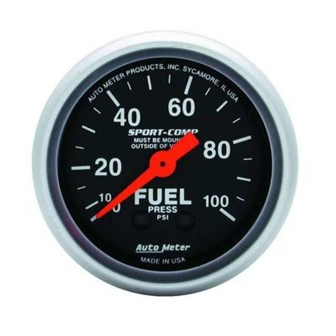 Bilde av 2-1/16'' Autometer Sport Comp Fuel Pressure