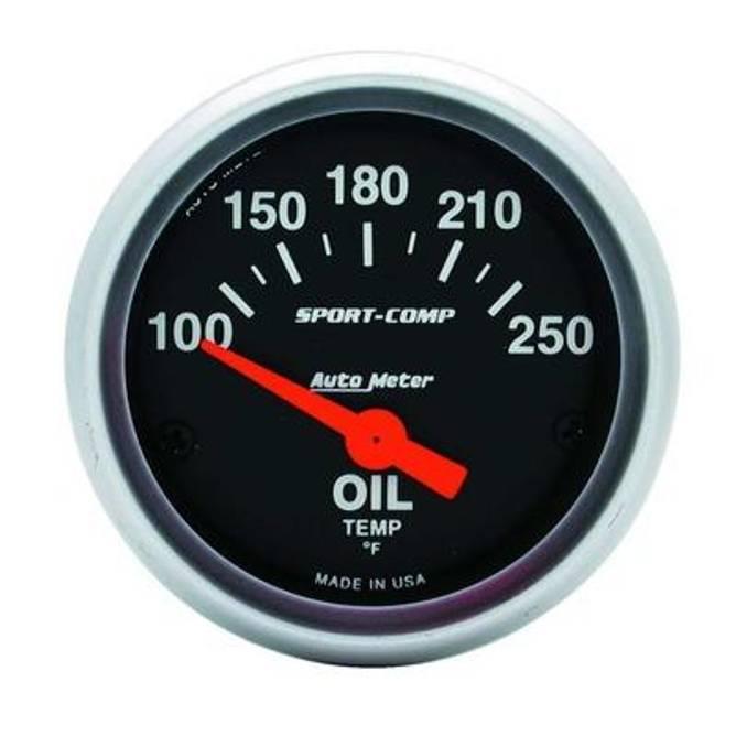Bilde av 2-1/16'' Autometer Sport Comp Oljetemperatur