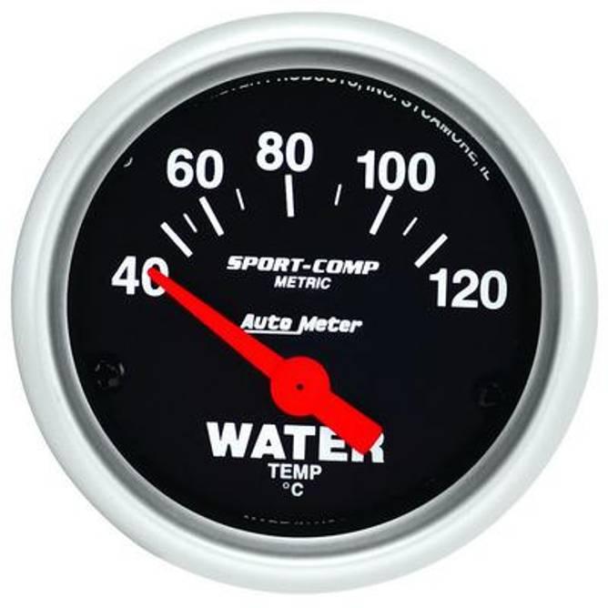 Bilde av 2-1/16'' Autometer Sport Comp Vanntemp Metrisk