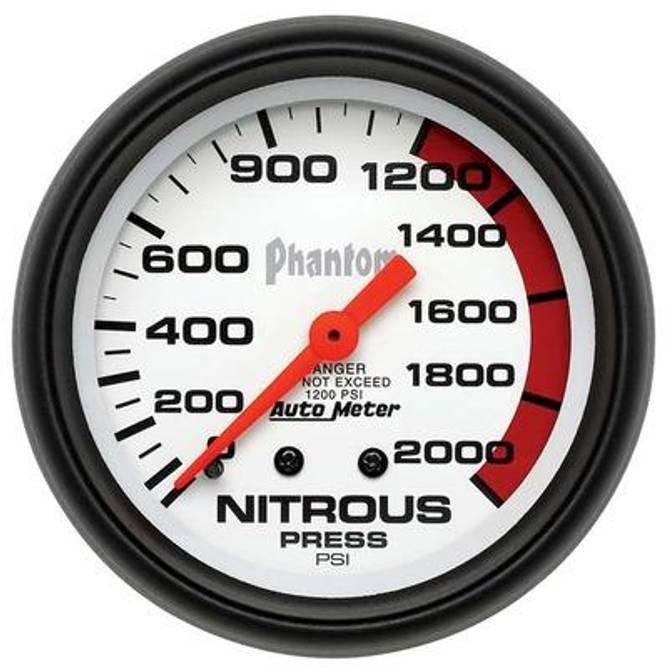 Bilde av 2-5/8in Phantom Nos Pressure Gauge 0-2000psi