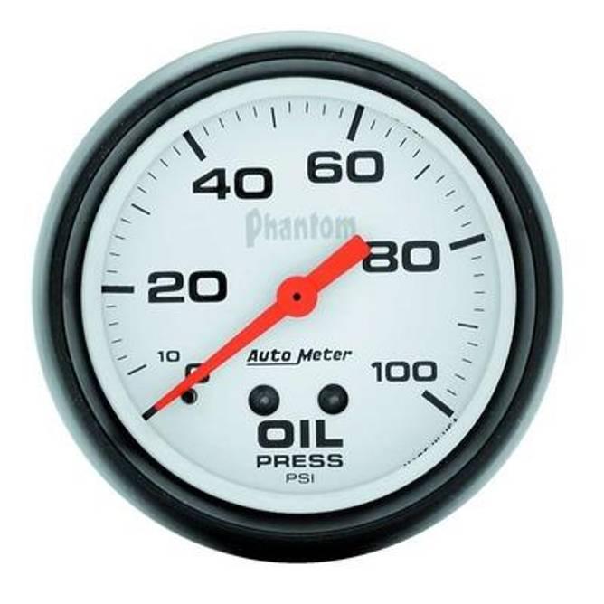 Bilde av 2-5/8in Phantom Oil Pressure Elektrisk 0-100psi