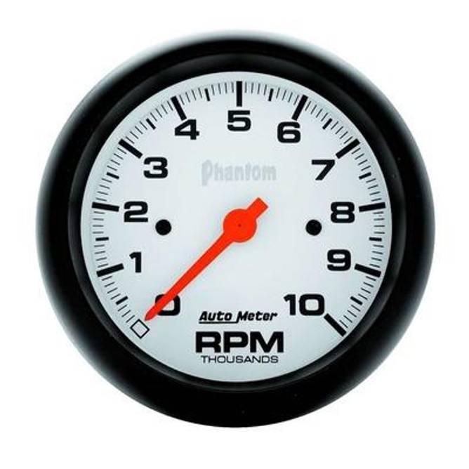 Bilde av 3-3/8in Phantom In-Dash Tach 10000 RPM