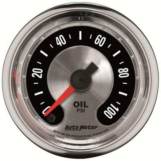Bilde av 2-1/16'' Oil Pressure Gauge 0-100psi