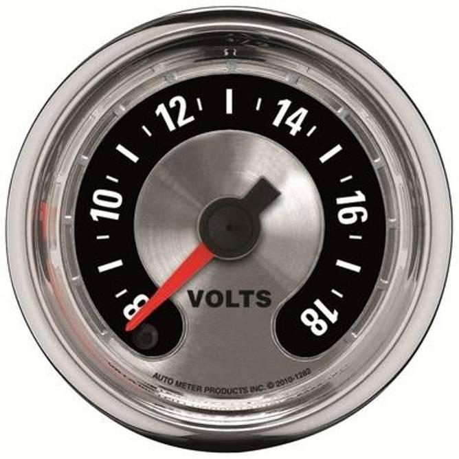 Bilde av 2-1/16'' Voltmeter Gauge 8-18