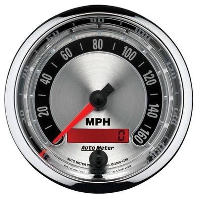 Bilde av 3-3/8'' Speedometer 160MPH
