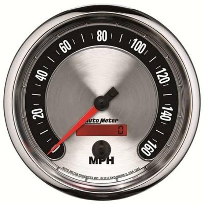 Bilde av 5'' Speedometer 160MPH
