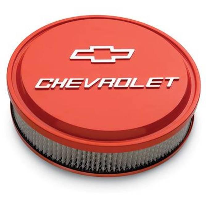 Bilde av Luftfilter Bowtie Air Cleaner Chevy Orange