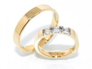 Bilde av Gifteringer SuperDeal med diamanter