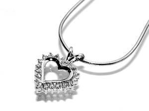 Bilde av Diamanthjerte 0.50 carat tw.si