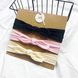 Bilde av 3 pack turban - Svart, rosa og gul