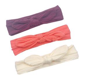 Bilde av 3 pack turban - Lilla, peach og hvit