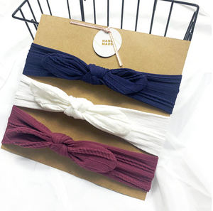 Bilde av 3 pack turban - Blå, hvit og lilla