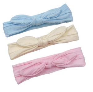 Bilde av 3 pack turban - Lyseblå, lysegul, rosa