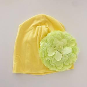 Bilde av Blomsterluen gul med gul blomst