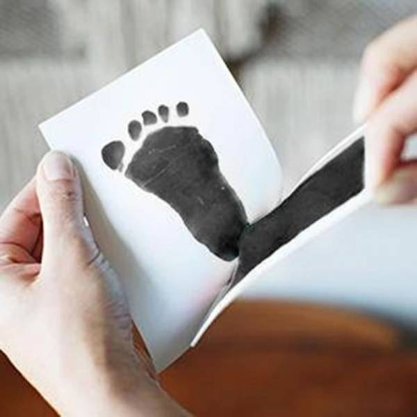 Baby fot/håndavtrykk