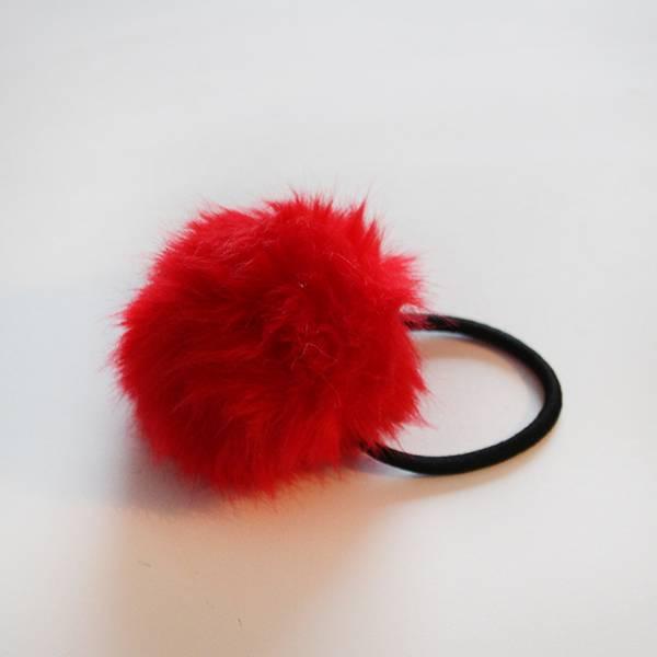 MiniDottStrikken Rød