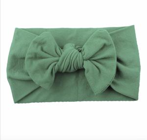 Bilde av Bowknot Turban Headwrap grønn