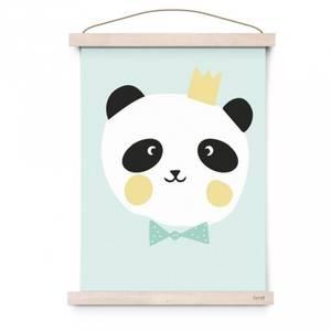 Bilde av Poster - Eef Lillemor King Panda (Matt)