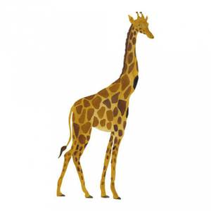 Bilde av Wallsticker - That's Mine Giraff