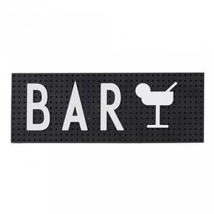 Bilde av Tavle - Design Letters The Sign (Black)