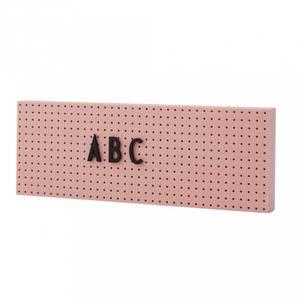 Bilde av Tavle - Design Letters The Sign (Pink)