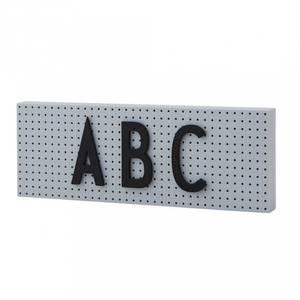 Bilde av Tavle - Design Letters The Sign (Grey)