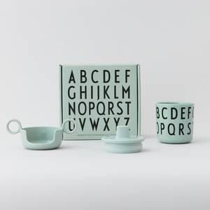 Bilde av Sett Med Kopp - Design Letters Grow With Your Cup (Green)