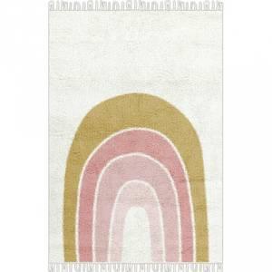 Bilde av Gulvteppe - Tapis Petit Rug Rainbow (90x130 Cm)