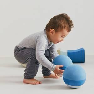 Bilde av Aktivitetsleker - bObles Foamballs 15cm (Blue)