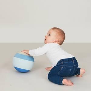 Bilde av Aktivitetsleker - bObles Foamballs 19cm (Blue)