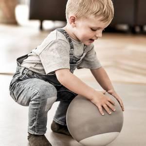 Bilde av Aktivitetsleker - bObles Foamballs 23cm (Grey)