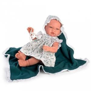 Bilde av Dukke - Asi Maria Green Dress