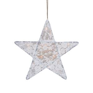 Bilde av Lampe - Numero 74 Star Lace Medium (White)