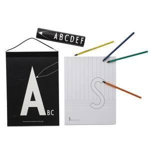 Bilde av Fargeblyanter - Design Letters Alfabet (15 Stk)