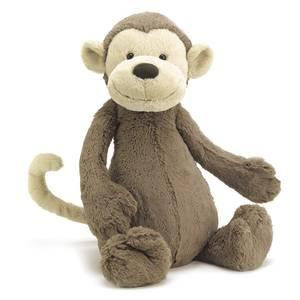 Bilde av Bamse - Jellycat Bashful Monkey 51 Cm