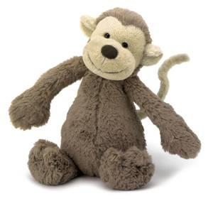 Bilde av Bamse - Jellycat Bashful Monkey 31 Cm