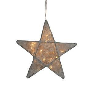Bilde av Lampe - Numero 74 Star Lace Medium (Silver Grey)