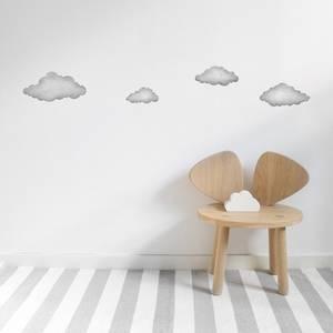 Bilde av Wallsticker - Stickstay Clouds (Graphite Grey)