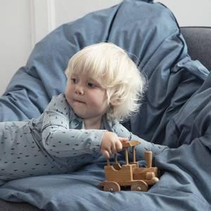 Bilde av Sengesett Baby - Sebra Dino (Blue)