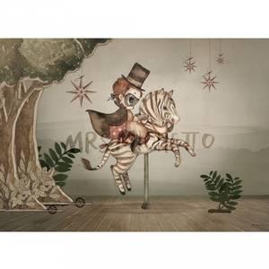Bilde av Poster - Mrs Mighetto Mr Frank (70x50)