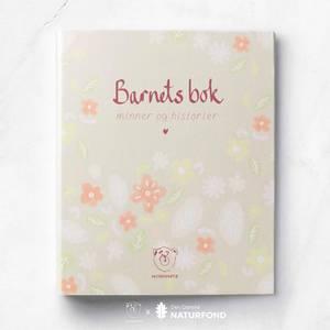 Bilde av Bok - Withwhite Barnets Bok Limited Edition (Rosa Blomster)