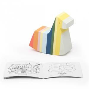 Bilde av Aktivitetsleker - bObles Pippi Mini Hest (Red Tail)