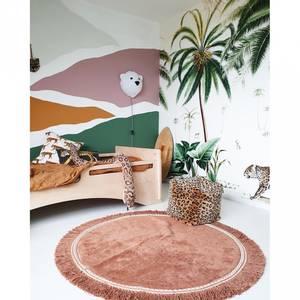 Bilde av Gulvteppe - Tapis Petit Rug Anna Round Old Pink (110 Cm)
