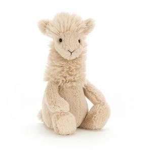 Bilde av Bamse - Jellycat Bashful Llama 18 Cm
