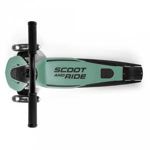 Bilde av Sparkesykkel - Scoot & Ride Highwaykick 5 LED (Forest)