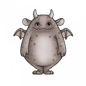 Bilde av Wallsticker - Stickstay Monster Friends