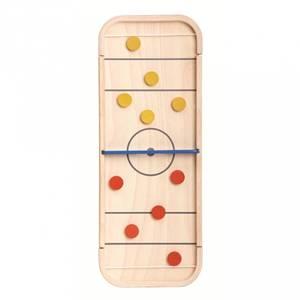 Bilde av Spill I Tre - Plantoys 2-I-1 Shuffleboard