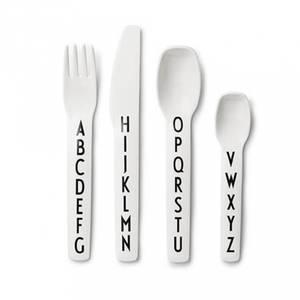 Bilde av Bestikk - Design Letters Alphabet (White)