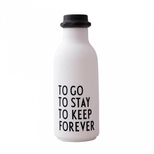 Drikkeflaske - Design Letters To Go Water Bottle Special Edition (White)