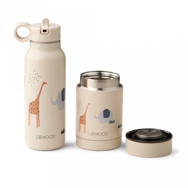 Mattermos & Drikkeflaske - Liewood Marlow (Safari Sandy Mix)
